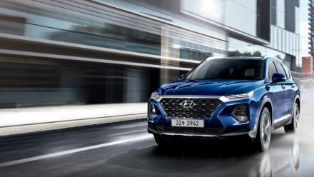 Hyundai SantaFe 2019 ra mắt, giá từ 595 triệu đồng