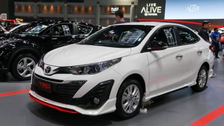 Toyota Vios 2018 cực chất với bản thể thao TRD tại Thái Lan