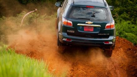 Chevrolet công bố video thử nghiệm khắc nghiệt trên mẫu Trailblazer