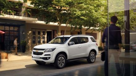 Chevrolet Việt Nam hé lộ giá bán Trailblazer tại Việt Nam
