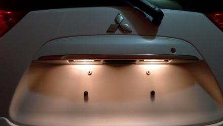 Ô tô không có đèn soi biển số sau có bị phạt?