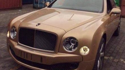 Bentley Mulsanne Speed Mulliner màu vàng hồng về Việt Nam