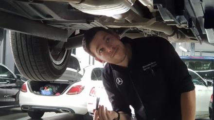 Những lưu ý khi lắp ống thông hơi cho Mercedes-Benz GLC