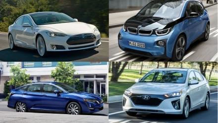 Những mẫu xe điện tăng tốc nhanh nhất thế giới