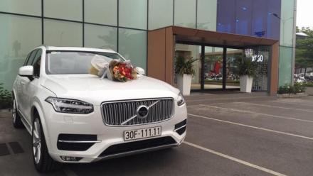 SUV hạng sang Volvo XC90 bốc ngẫu nhiên được biển ngũ quý