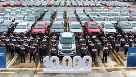 GM Việt Nam chạm mốc 10.000 xe bán ra trong năm 2017