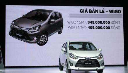 Toyota Wigo, Rush và Avanza ra mắt với mức giá gây sốc