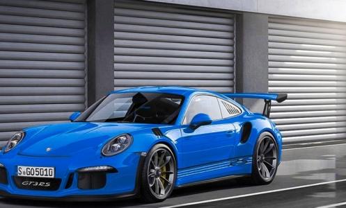 Màu xanh 'lạ' của Porsche 911 GT3 RS