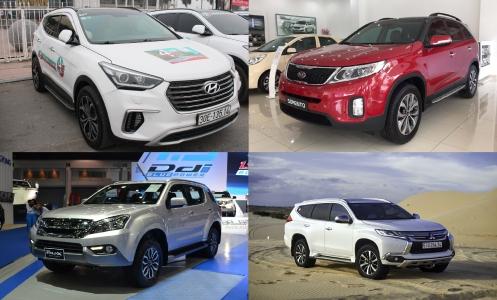 Toyota Fortuner khan hàng, cơ hội cho những mẫu xe nào?