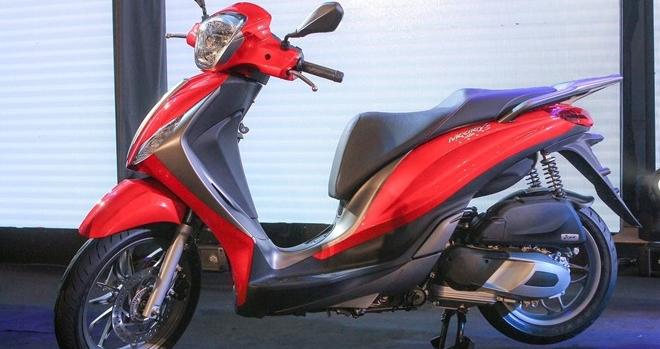 Piaggio Việt Nam triệu hồi hơn 3 nghìn xe Medley