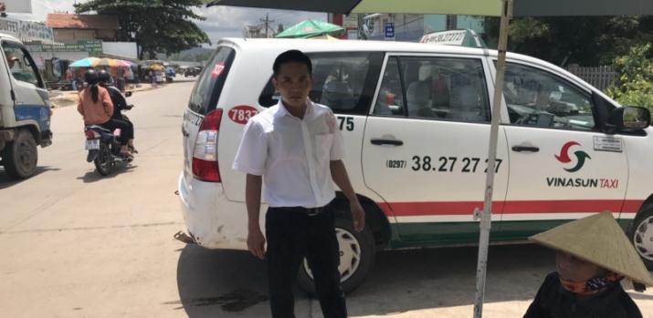 Đánh người, một tài xế taxi ở Phú Quốc bị phạt 2,5 triệu đồng