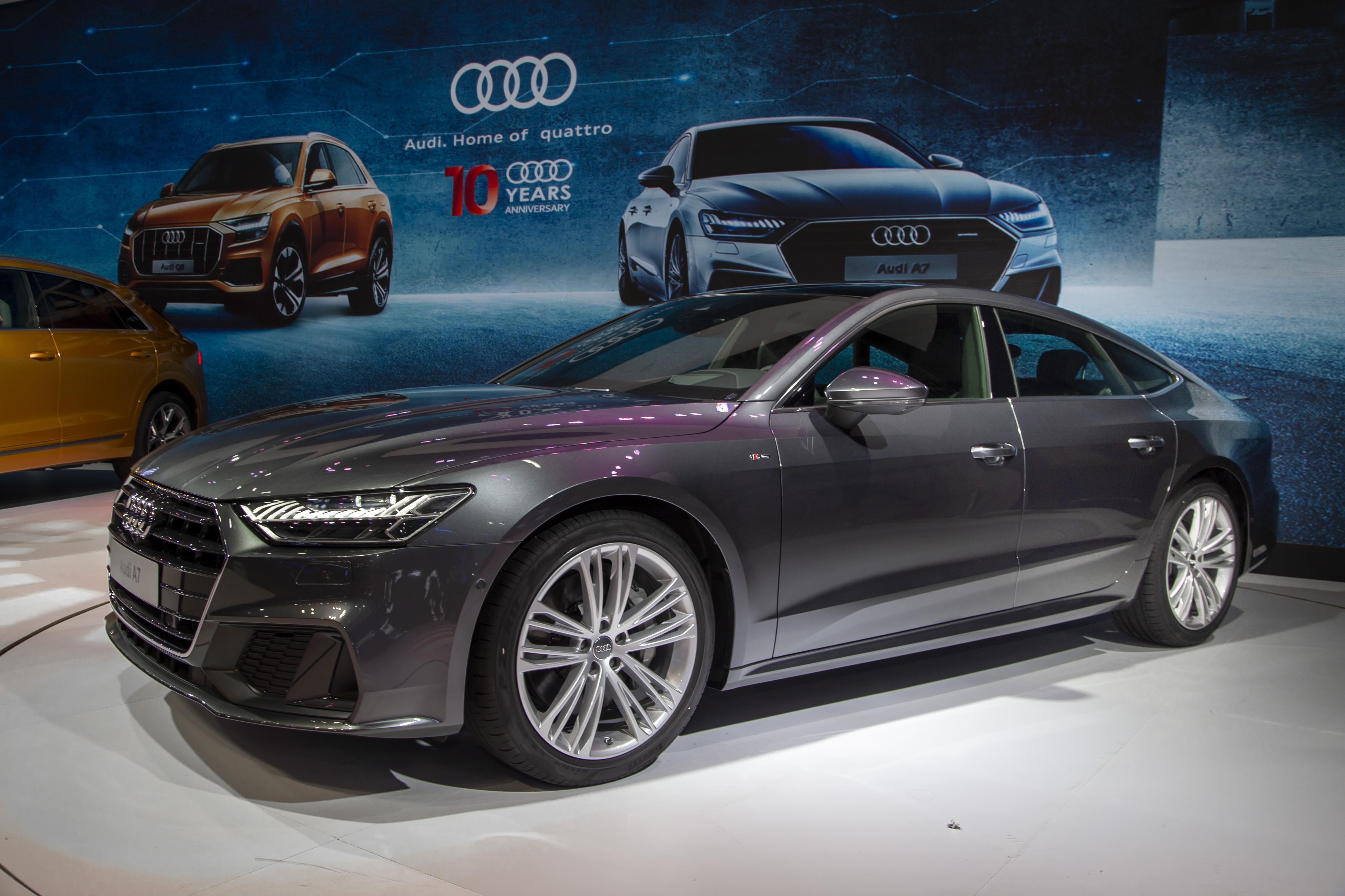 Audi A7 Sportback vừa chính thức được giới thiệu tại Việt Nam