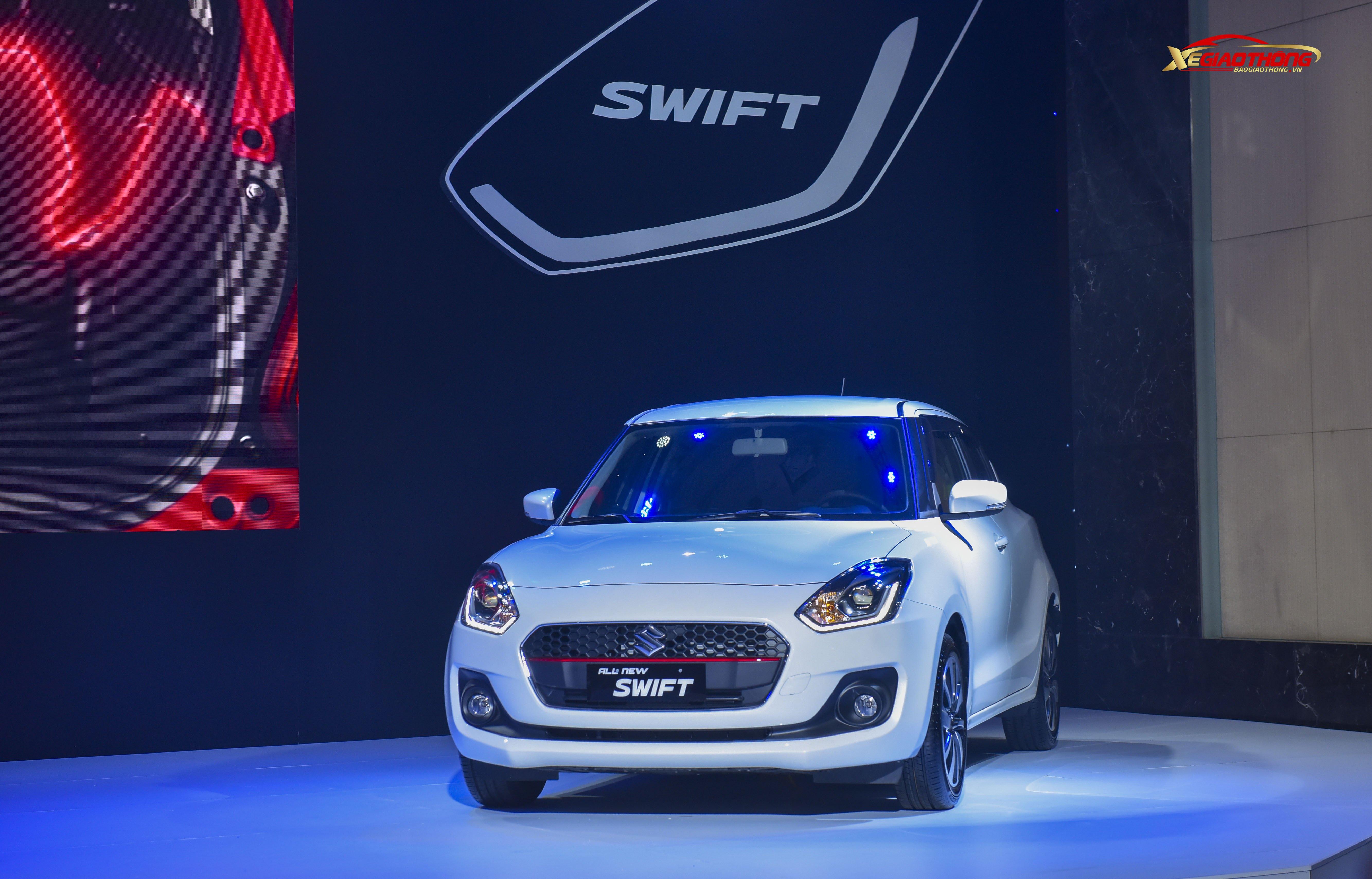 Suzuki Swift thế hệ mới chính thức được giới thiệu tại thị trường Việt Nam