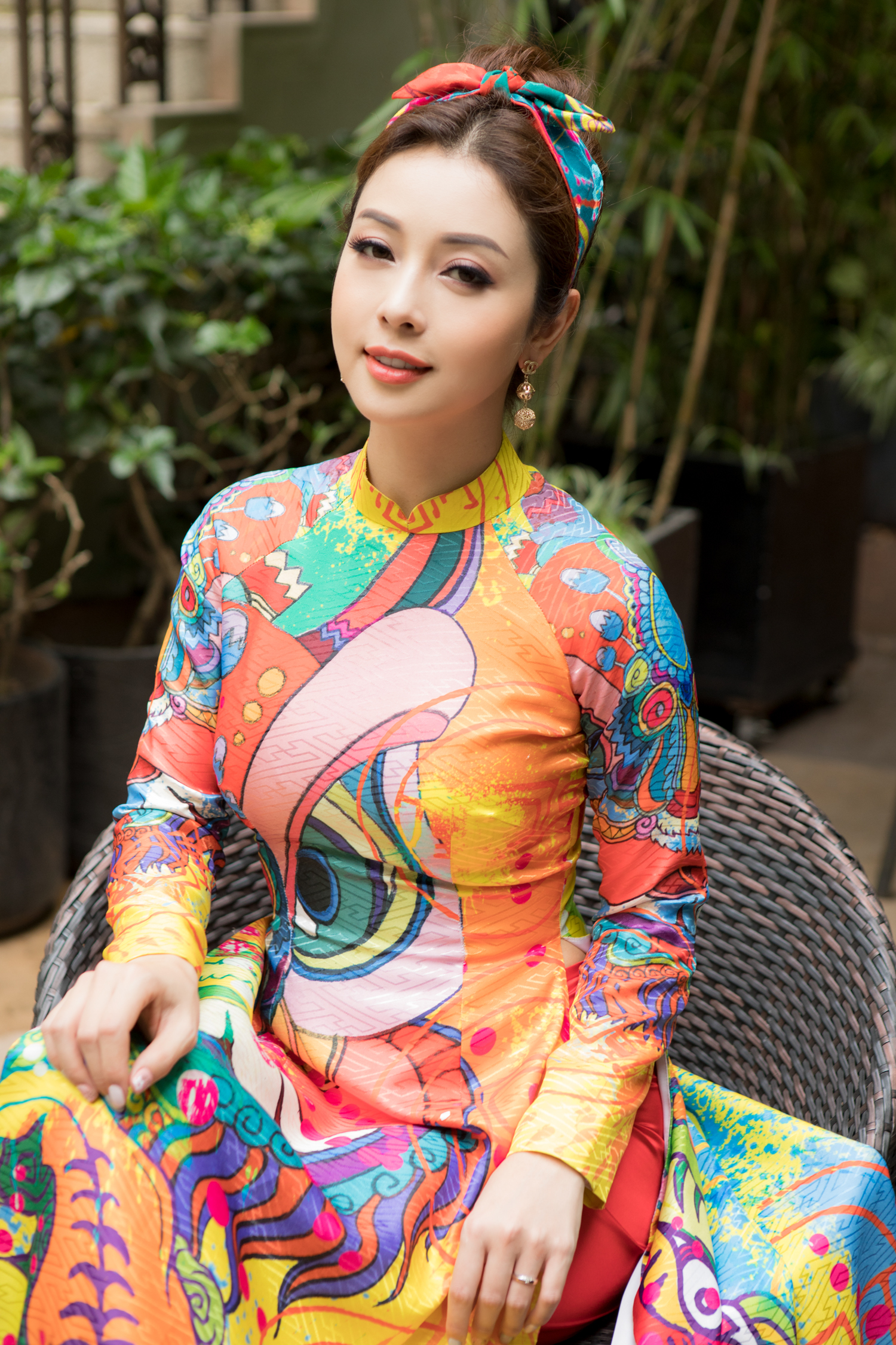 Mới đây, hoa hậu Jennifer Phạm đã có dịp làm MC tại một chương trình diễn ra tại TP HCM.