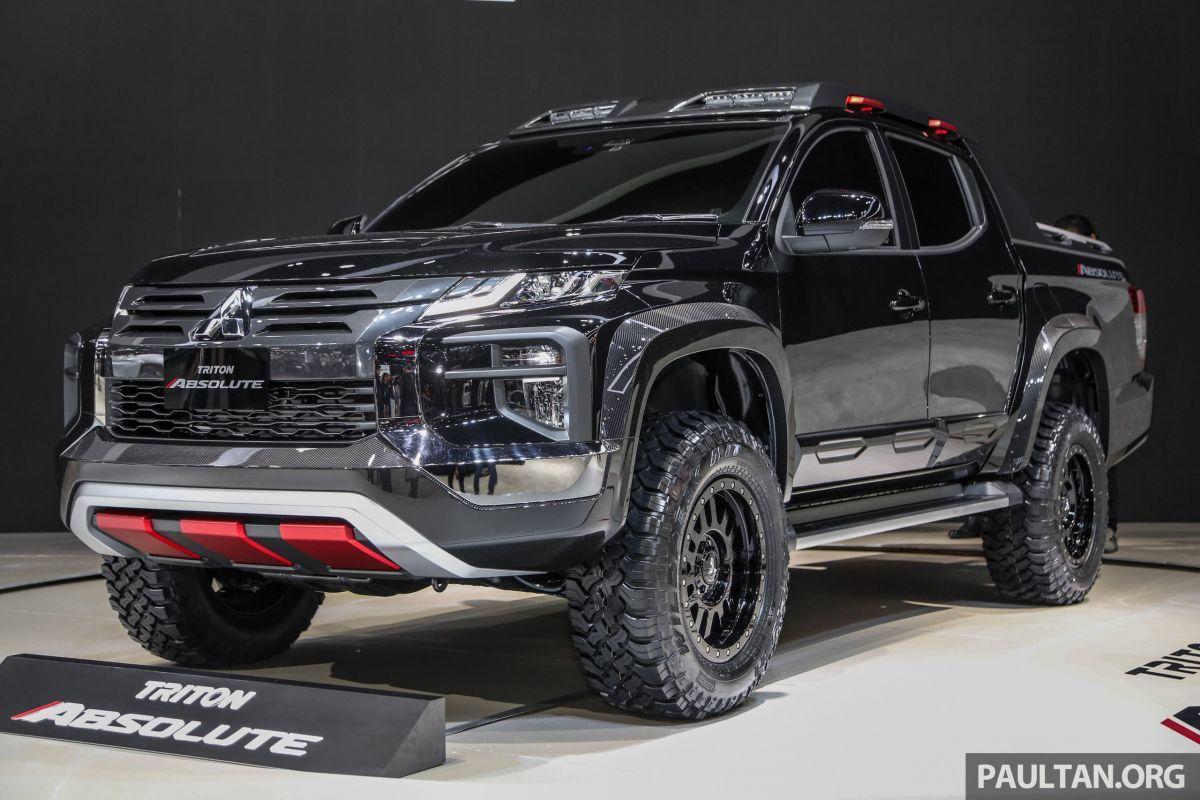 Mitsubishi Triton Absolute được giới thiệu tại triển lãm ô tô Bangkok 2019