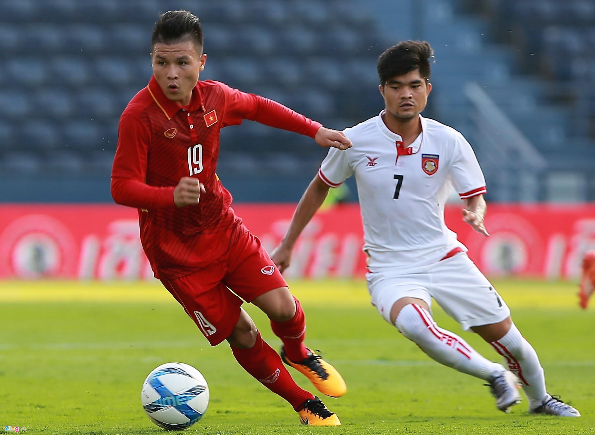 Trận giao hữu giữa U23 Việt Nam với U23 Myanmar sẽ được đá tại Sân vận động Phú Thọ