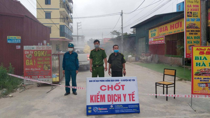 Bắc Giang: Điều tra, xử lý trách nhiệm liên quan ổ dịch tại KCN Vân Trung