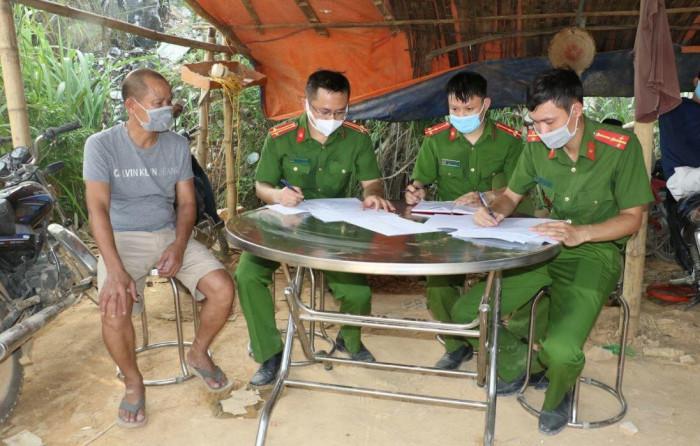 Khởi tố bị can vụ mỏ thổ phỉ do GĐ CA tỉnh Nghệ An chỉ đạo trực tiếp