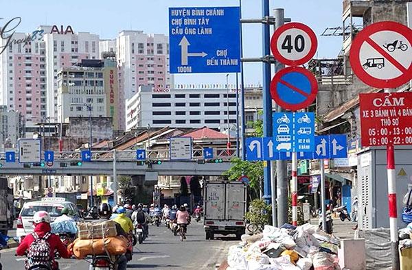 ý nghĩa các biển báo giao thông đường bộ - 1