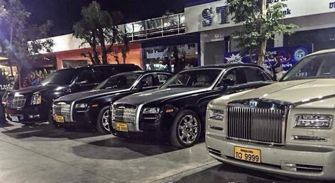 c0 Rolls-Royce Ghost x2 & Phantom Series2