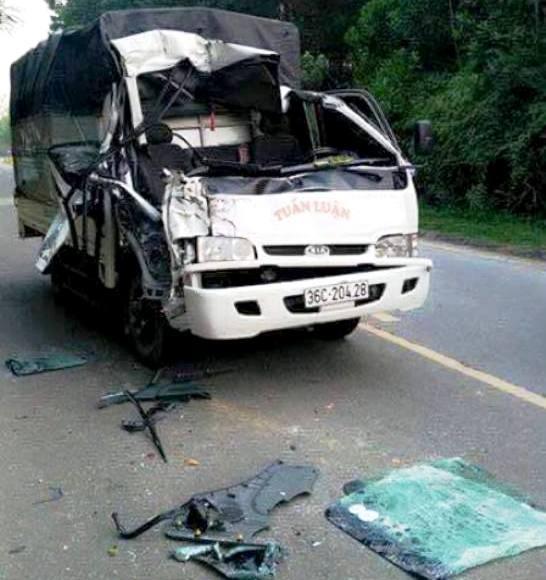 Chiến sĩ công an tử vong vì tai nạn giao thông 2