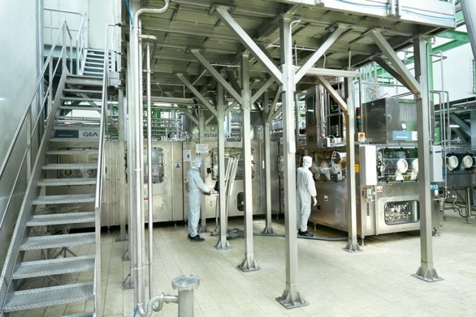 tân hiệp phát công khai quy trình sản xuất trà thảo mộc dr thanh