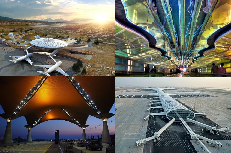 Điểm danh 9 sân bay có kiến trúc đẹp nhất thế giới 1