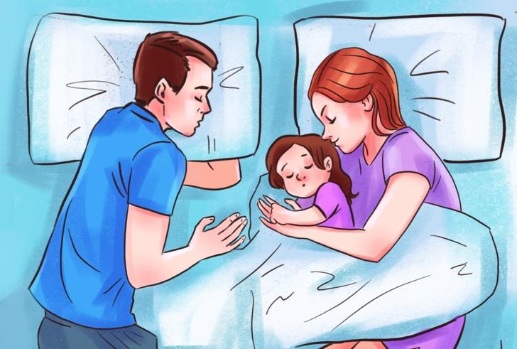 Tại sao cha mẹ không nên để con ngủ chung giường?