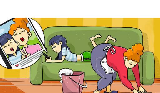"""Những hậu quả """"đắng chát"""" nếu bố mẹ không cho phép trẻ làm việc nhà sớm"""
