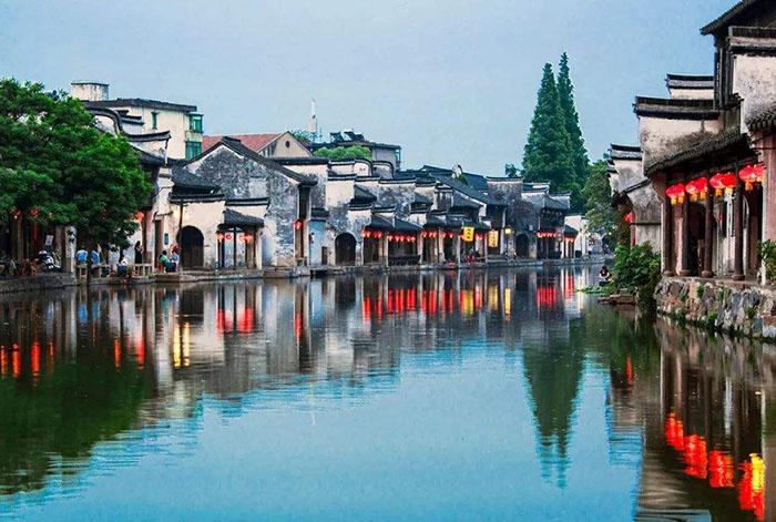 Thị trấn cổ hiếm hoi ở Trung Quốc