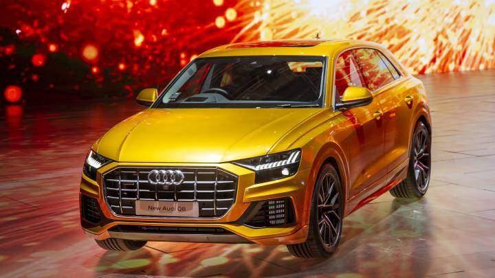 Audi Q8 thế hệ mới sẽ được trưng bầy tại gian hàng của Audi Việt Nam tại VMS 2018