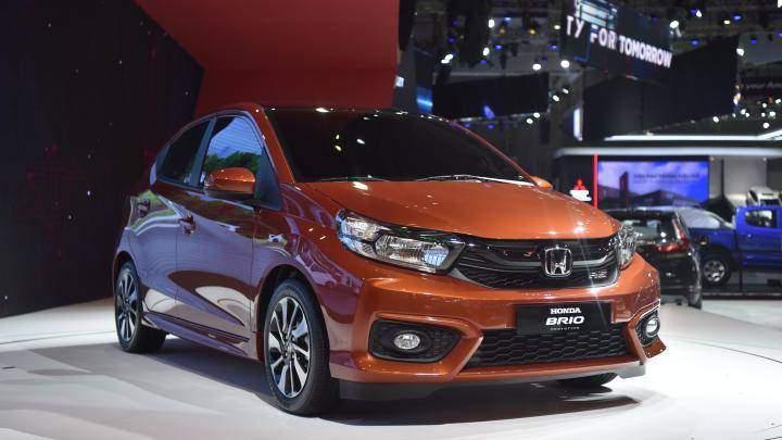 Honda Brio, tân binh mới nhất của Honda đã chính thức được hãng xe Nhật Bản trưng bày tại triển lãm ô tô Việt Nam (VMS) 2018 đang diễn ra.