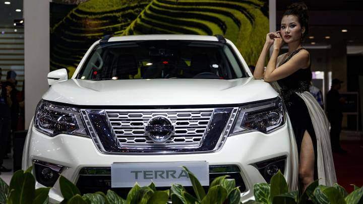 Nissan Terra là mẫu SUV 7 chỗ hoàn toàn mới cạnh tranh cùng Toyota Fortuner, Chevrolet Trailblazer.