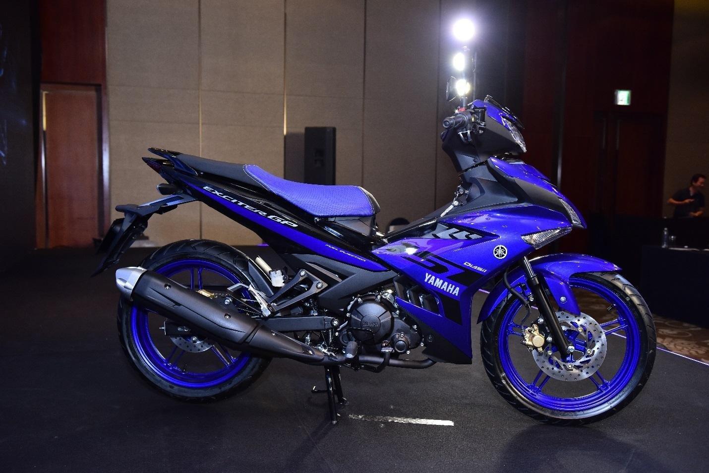 Yamaha Exciter 150: Exciter 150 đang chiếm vị thế hàng đầu tại Việt Nam, trong phân khúc xe côn tay dưới 175. Giá bán Exciter 150 tại các đại lý Yamaha khoảng 47-50 triệu đồng.