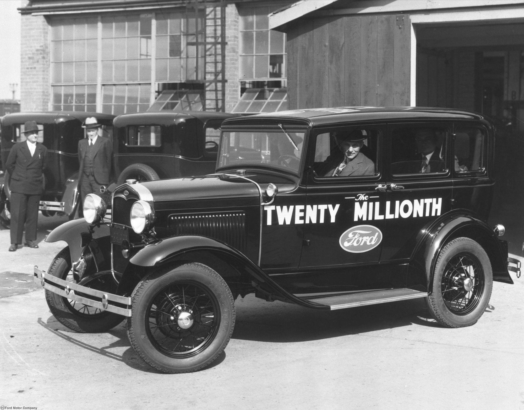 Lịch sử Ford và câu chuyện thú vị về ông vua xe hơi nước Mỹ 5