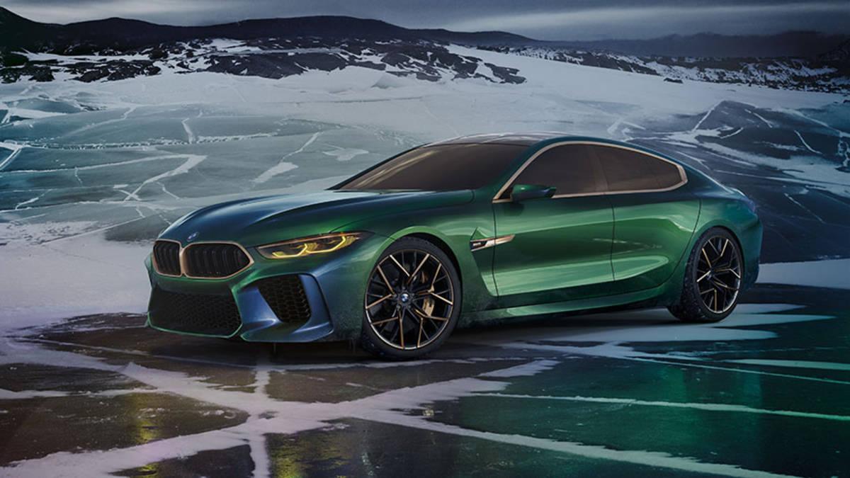 BMW 8-Series Gran Coupe đã xuất hiện tại sự kiện Concorso d'Eleganza Villa d'Este 2018 ở Ý. Vẻ ngoài hầm hố dữ tợn và đẹp tuyệt vời