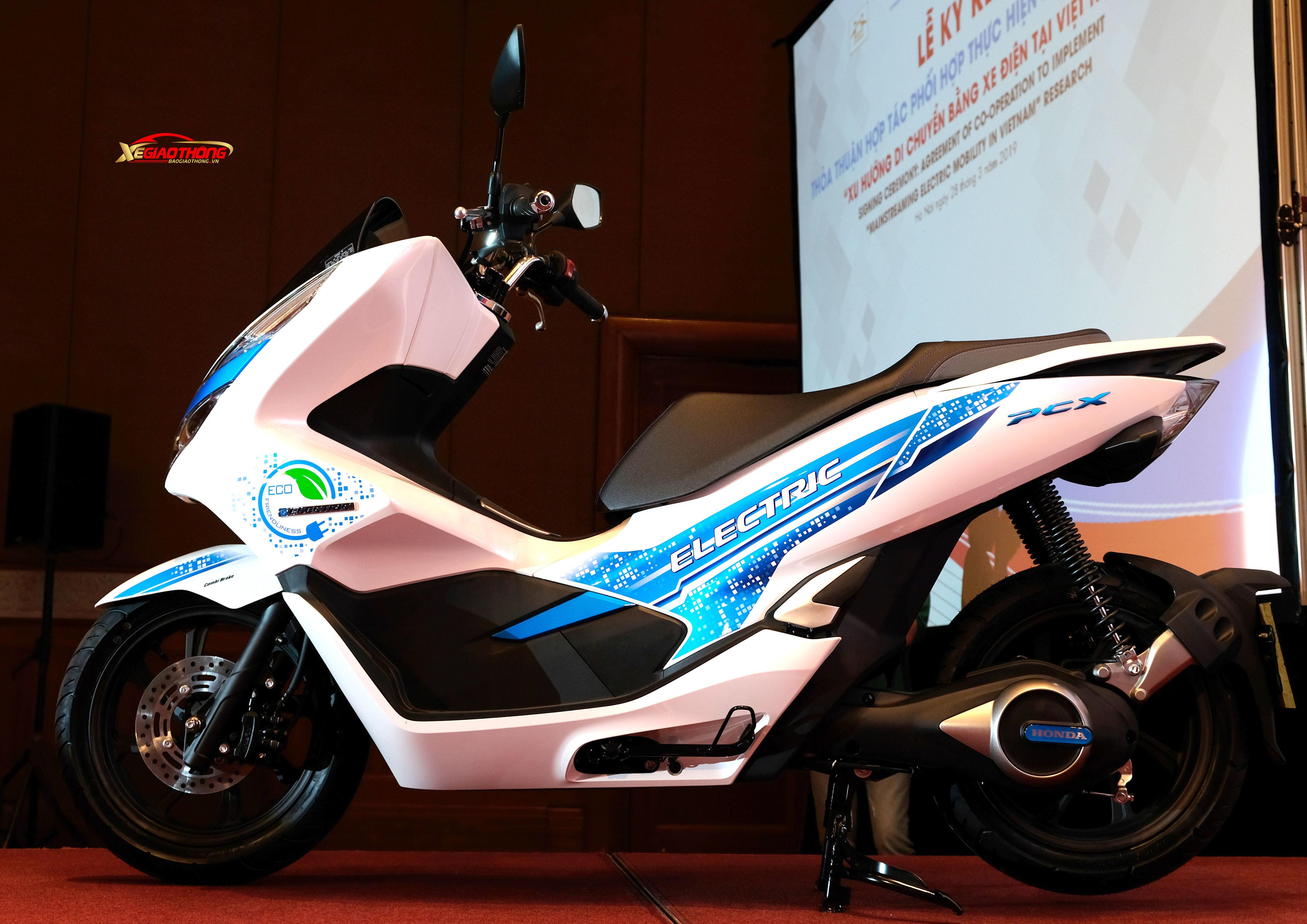 PCX Electric là mẫu xe thuần điện đầu tiên của Honda Việt Nam