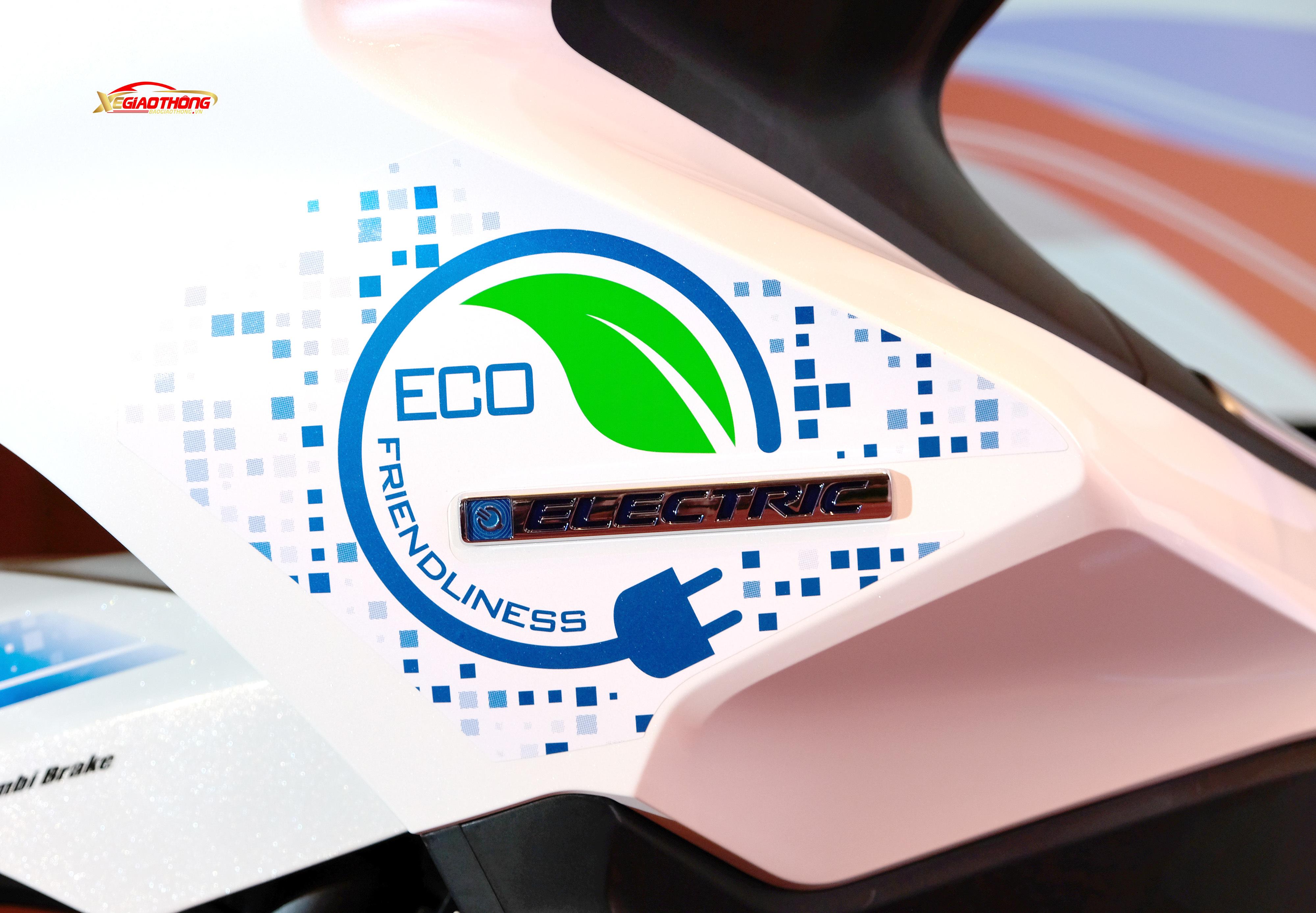 Logo Eco thân thiện môi trường thường thấy của Honda