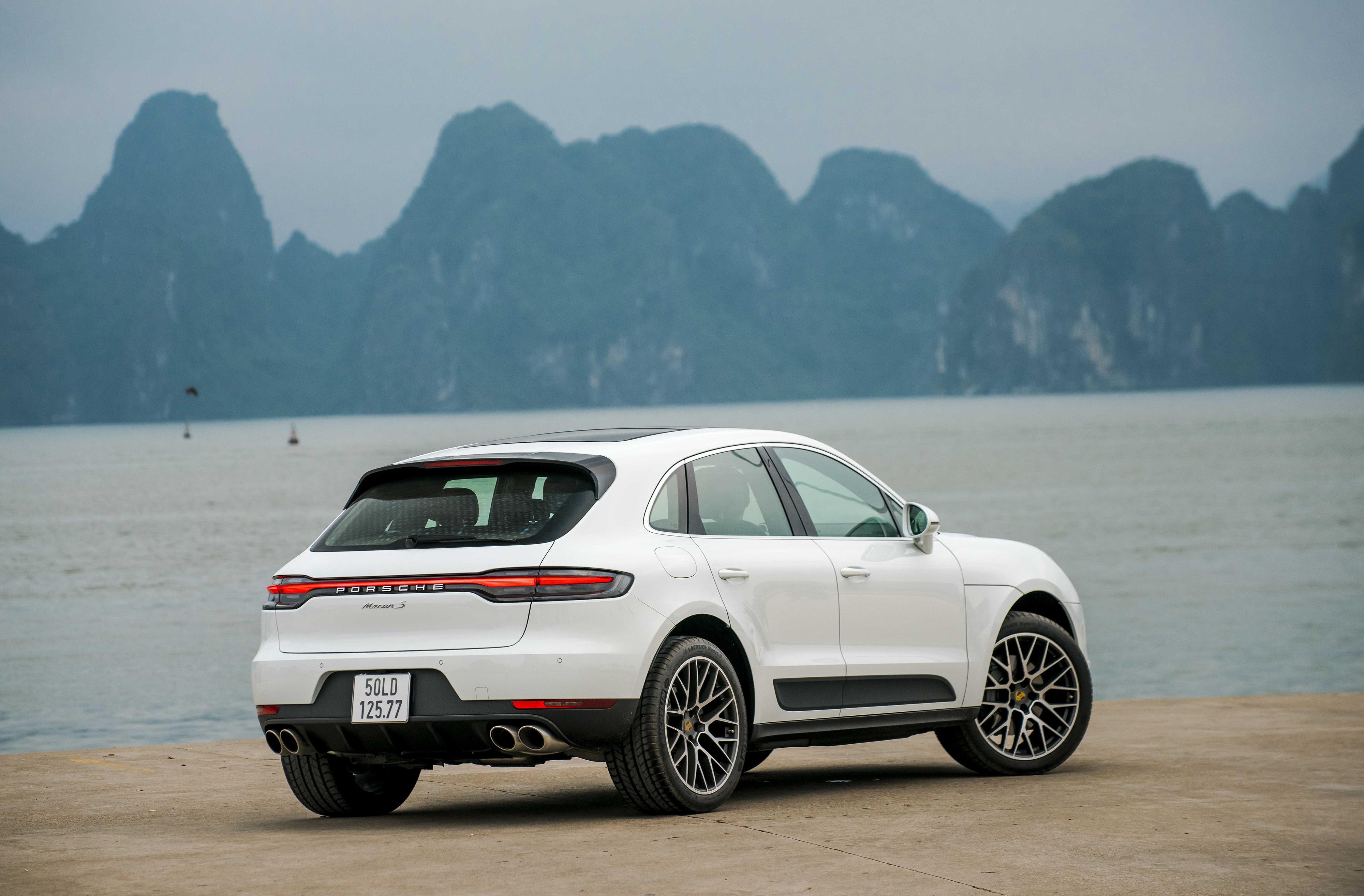 Macan S sở hữu các thiết kế ngoại thất tiên tiến nhất của Porsche