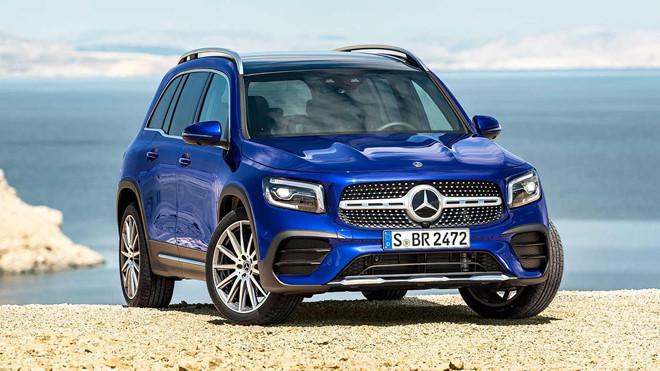 Đúng như tên gọi của nó, Mercedes-Benz GLB được định vị nằm giữa GLA và GLC với chiều dài cơ sở đạt 2.829 mm