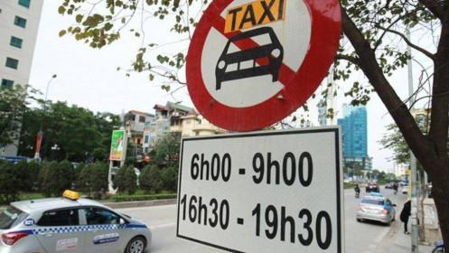 Hà Nội công bố 11 tuyến đường cấm taxi hoạt động - Baogiaothong.vn