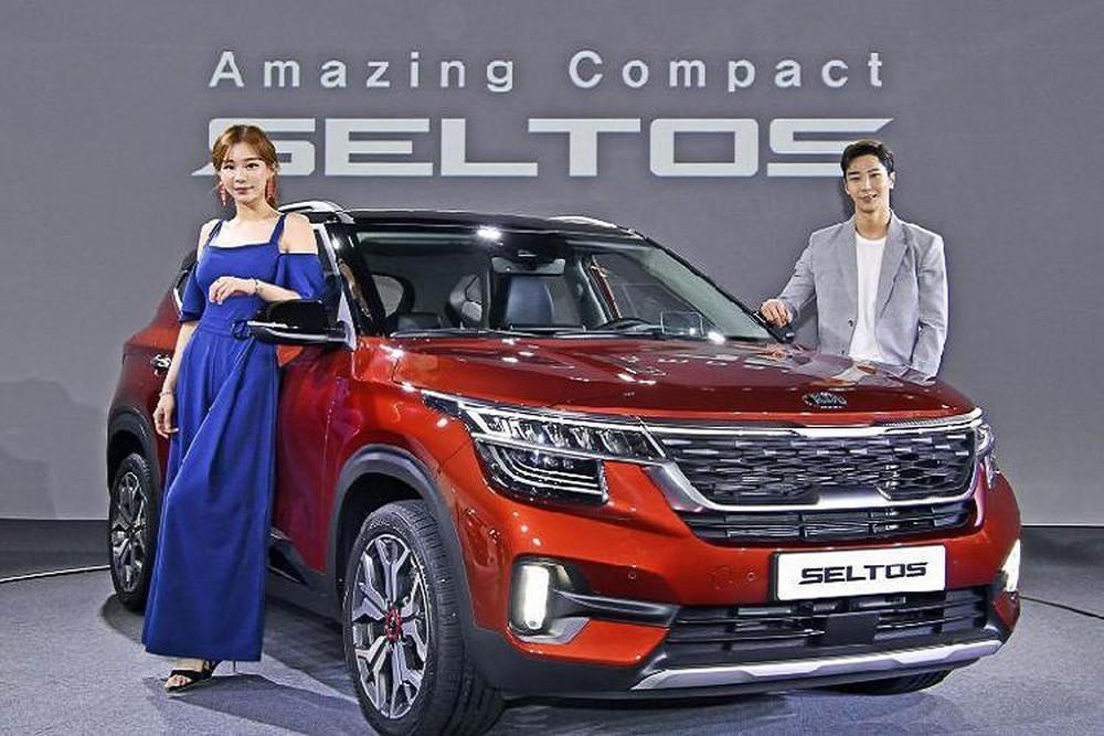 Vừa ra mắt thị trường Hàn Quốc, giá xe Kia Seltos 2019 bán ra từ 19,29 – 26,36 triệu won (tương đương 383 – 523 triệu đồng)