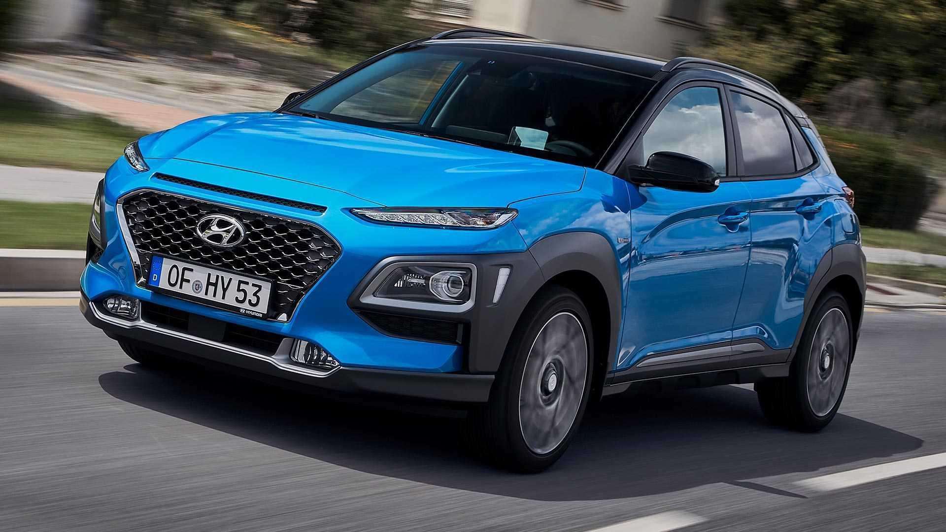Phiên bản hybrid mới của Hyundai Kona sẽ có 3 bản, tất cả đều đi kèm hệ thống truyền động xăng-điện 1,6 lít, tạo công suất 105 mã lực và được kết hợp với một động cơ điện 44 mã lực dẫn động các bánh trước