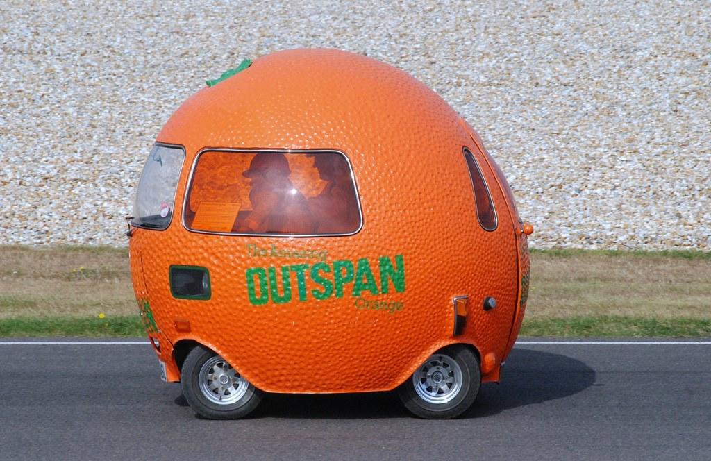Outspan Orange - 1972: Một trong những chiếc xe quảng cáo nổi tiếng và được yêu thích nhất