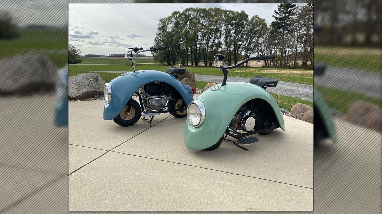 Không có gì lạ lẫm khi một người quyết định tái sử dụng các bộ phận từ một chiếc xe cũ để sáng tạo ra một chiếc xe mới hoàn toàn