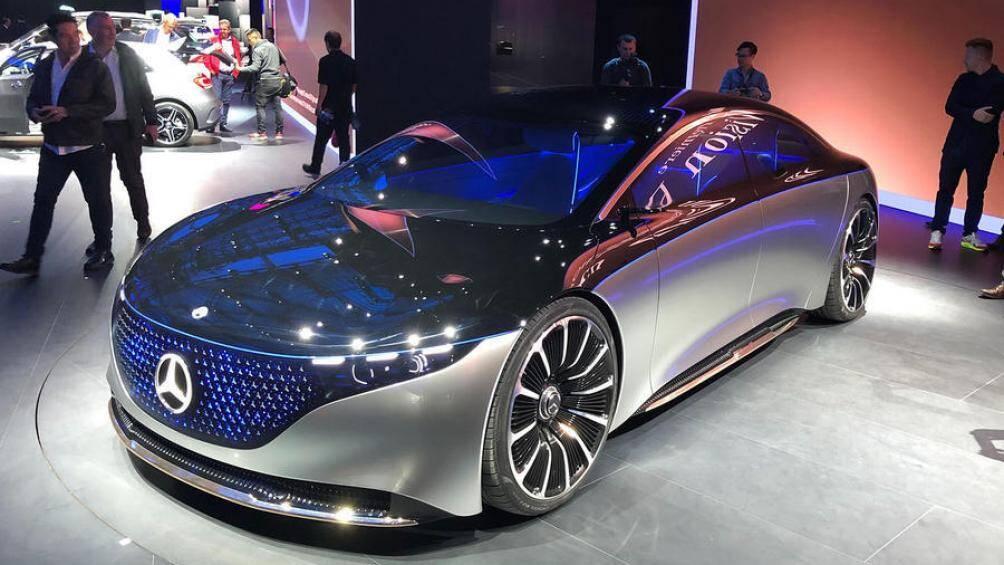 3. Mercedes-Benz Vision EQS