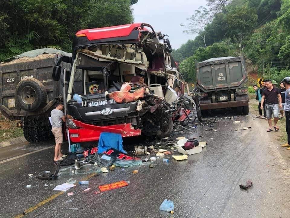 Tai nạn ở Hàm Yên Tuyên Quang - 1
