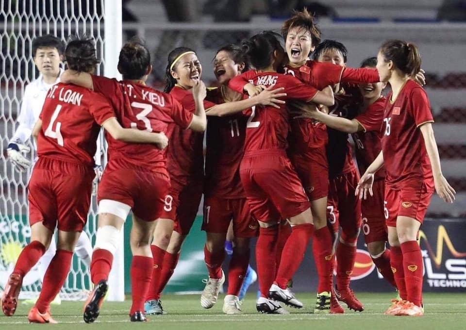 Chiến đấu kiên cường, tuyển nữ Việt Nam giành HCV SEA Games 30