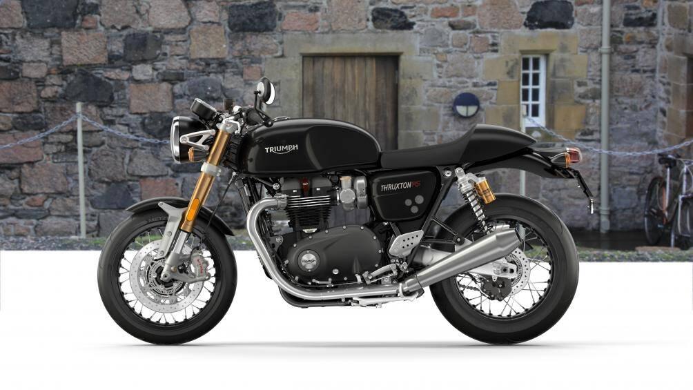 1. Triumph Thruxton RS Cafe 2020 (giá: 16.900 euro)