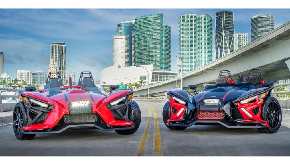 Dòng xe 3 bánh Polaris Slingshot vừa được cập nhật thêm phiên bản mới mang tên Polaris Slingshot 2020